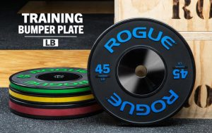 Rogue Black Training Color Stripe Bumper Plate