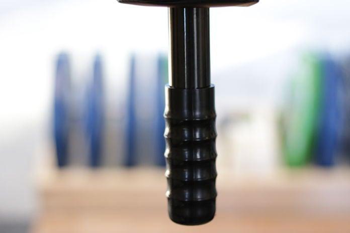 EliteFTS Safety Squat Bar Handles in Garage Gym
