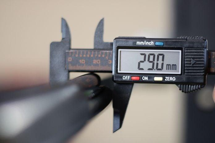 Rogue Ohio Power Bar Shaft Diameter