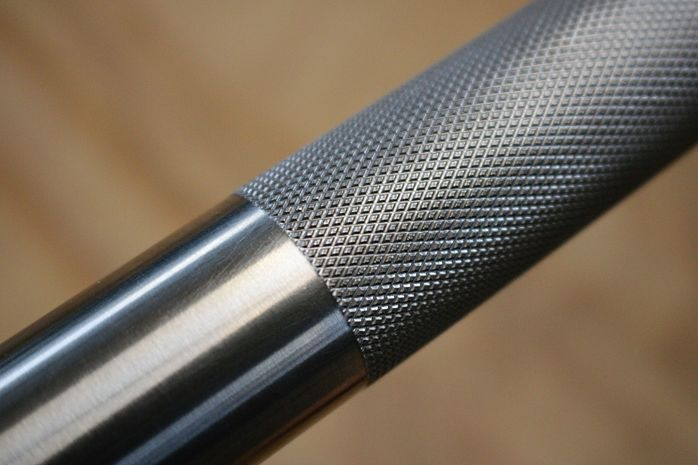 Rep Fitness Stainless Steel Power Bar Knurl