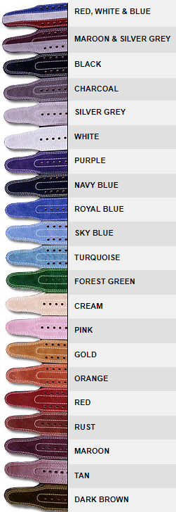 Inzer Belt Colors