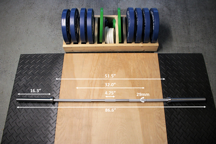 Fringe Sport Power Bar Measurements