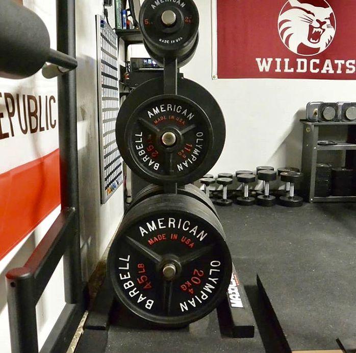 Gray Matter Lab Plates Garage Gym