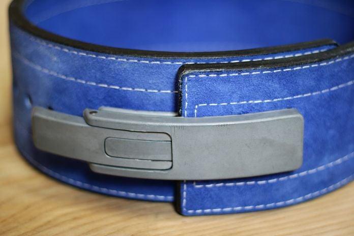 Inzer Forever Lever Belt Close Up