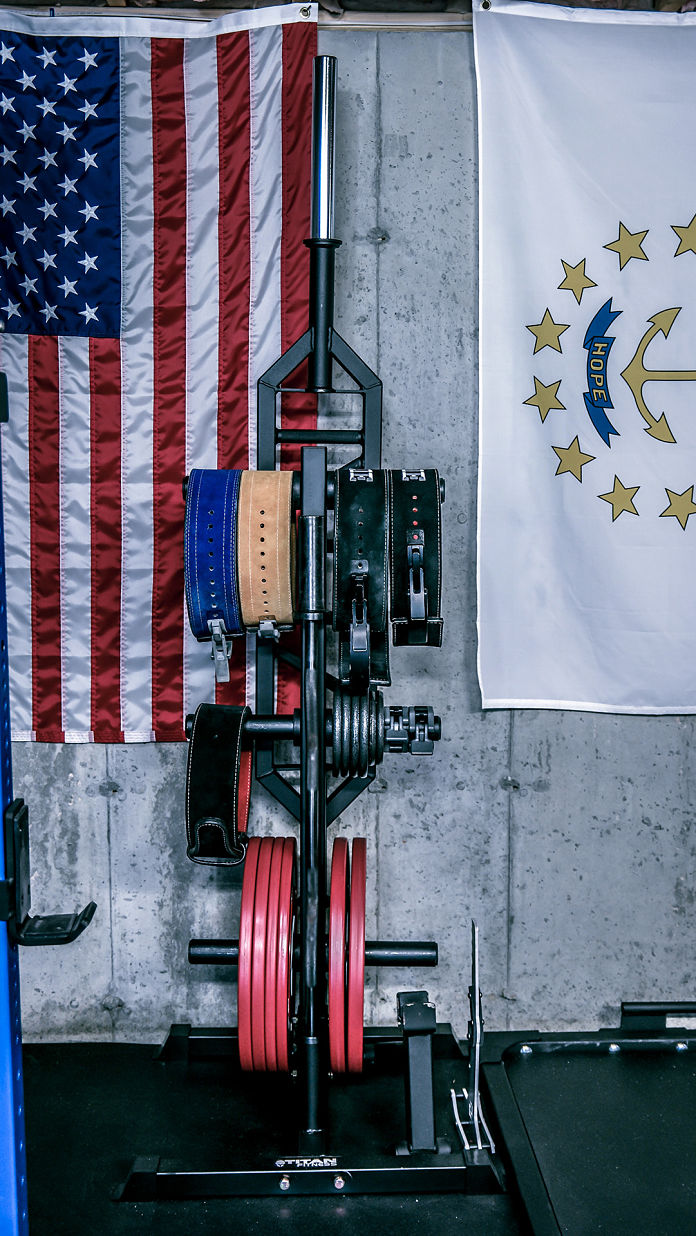 Brandon Campbell Home Gym 6 Garage Gym Lab