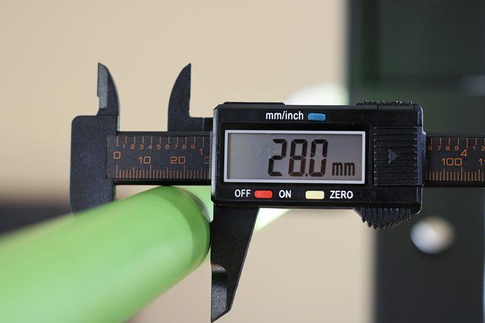 California Bar Shaft Diameter Garage Gym Lab