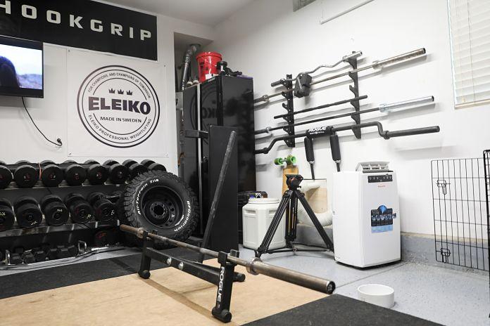 Liam Connolly Garage Gym Bars