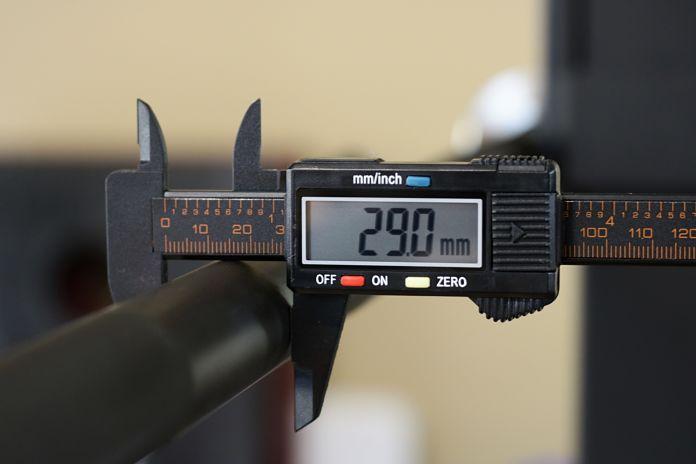 Vulcan Absolute Power Bar Shaft Diameter Garage Gym Lab