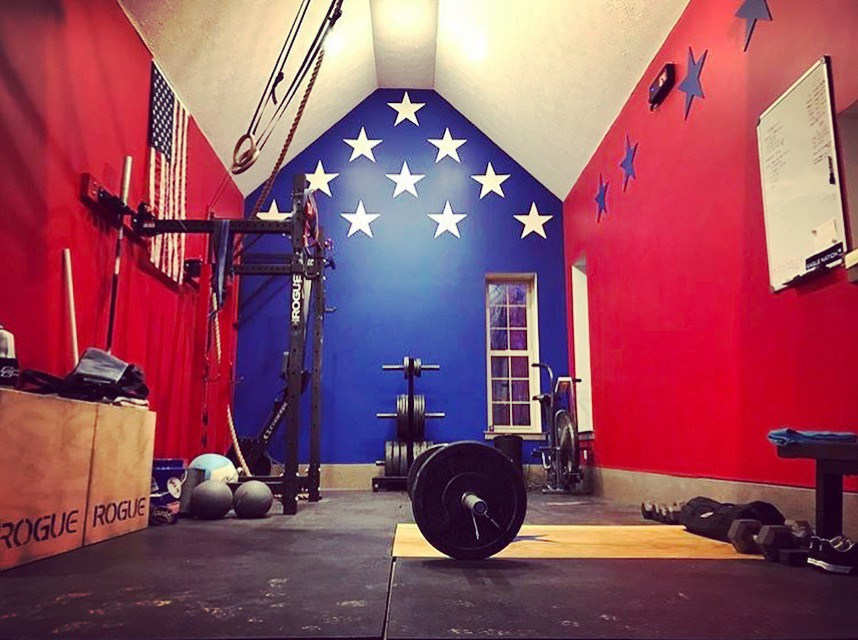 Step into brians amazing crossfit barn gym garage gym lab