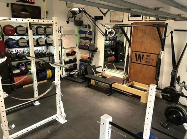 White Box Powerlifting Garage Gym Ronski Garage Gym Lab