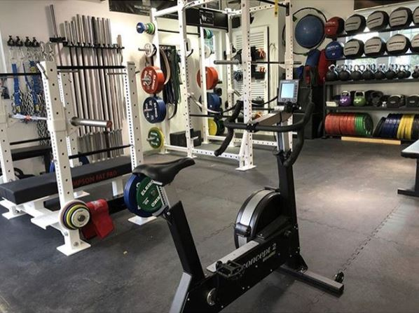 White Box Bikeerg Powerlifting Garage Gym Lab