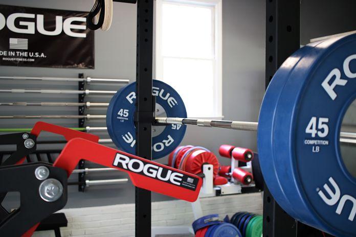 Kabuki Strength Power Bar - Loaded 5 Garage Gym Lab