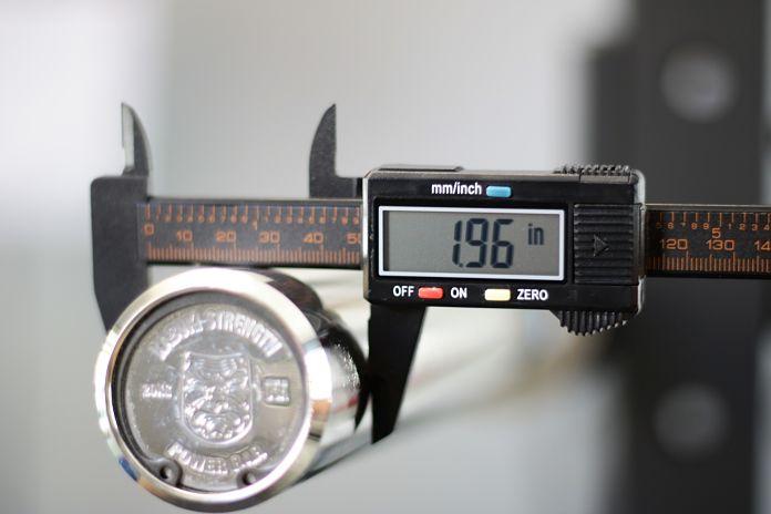 Kabuki Strength Power Bar - Sleeve Diameter Garage Gym Lab