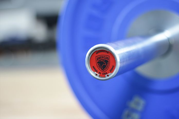 American Barbell Mammoth Bar - Close Garage Gym Lab