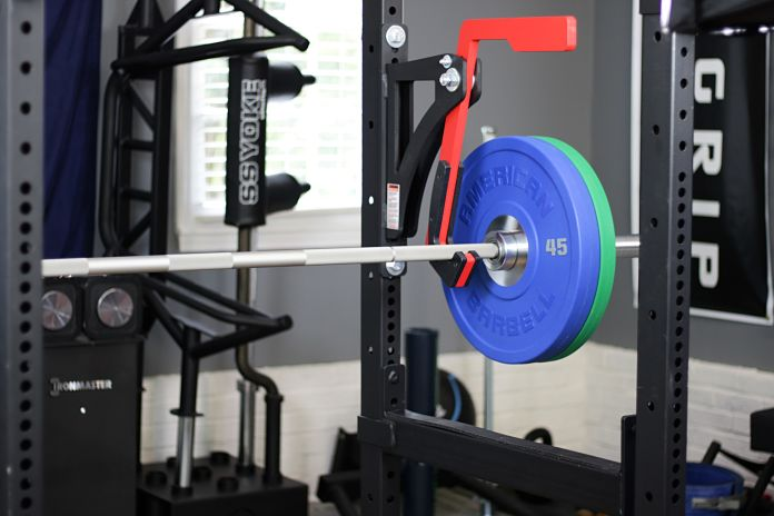 American Barbell Mammoth Bar - Loaded 3 Garage Gym Lab