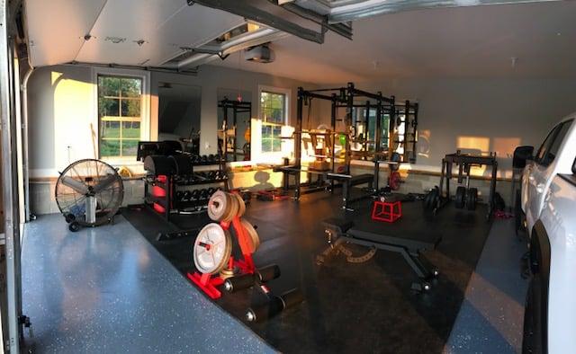 Catie's Garage Gym 9 - Garage Gym Lab