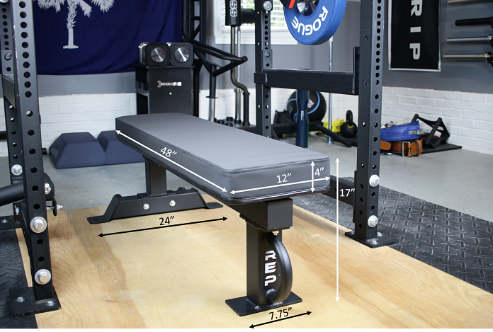 Rep Fitness FB-5000 Dimensions Garage Gym Lab