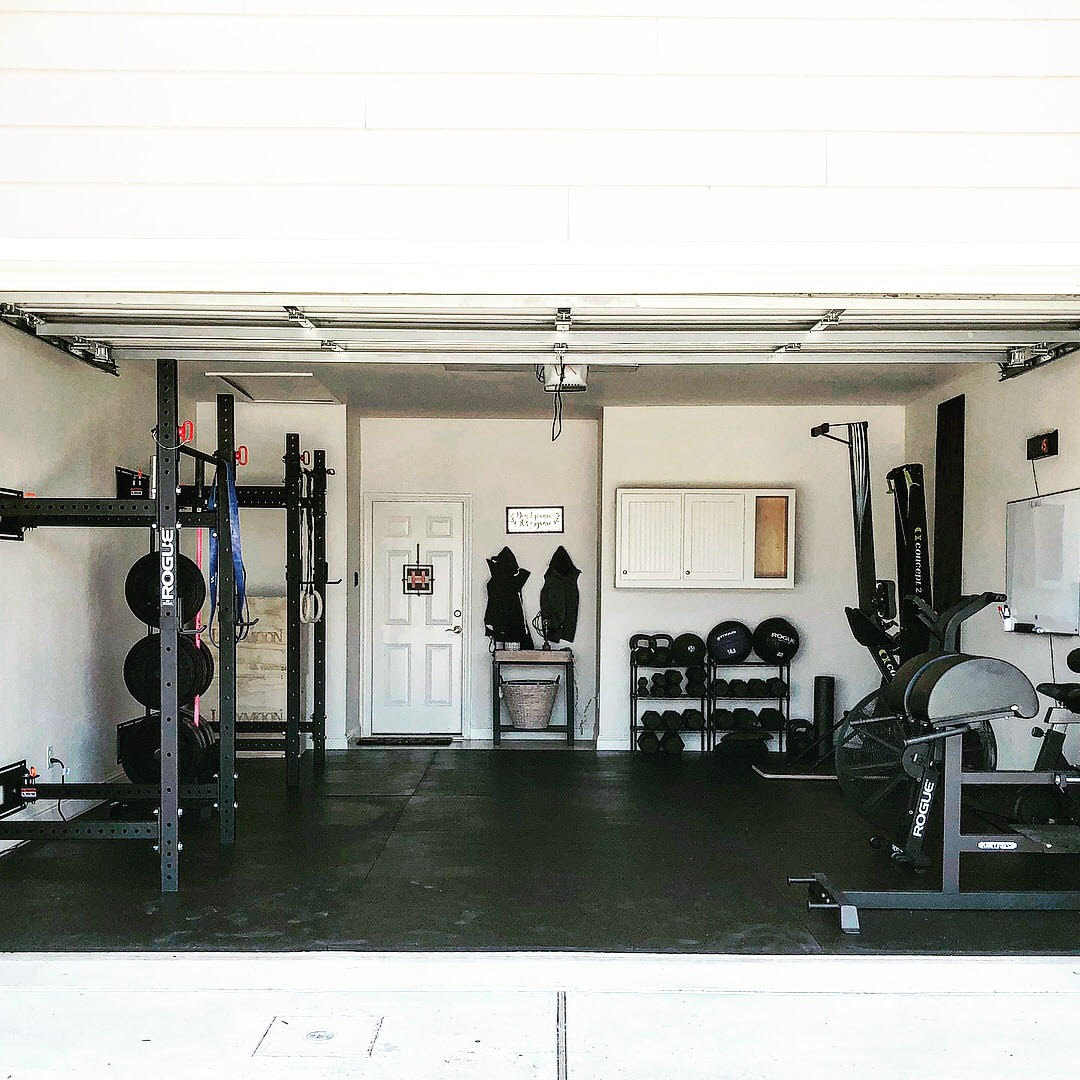 Holly and Haylie 1 Garage Gym Lab