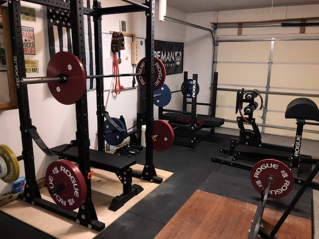 SWAT Officer's Powerlifting Garage Gym 2 Garage Gym Lab