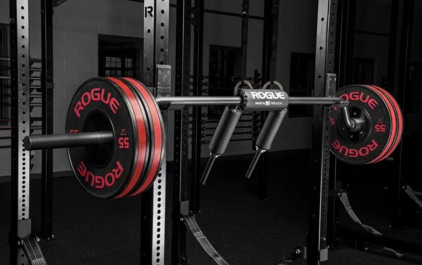 Rogue Fitness Safety Squat Bar Garage Gym Lab