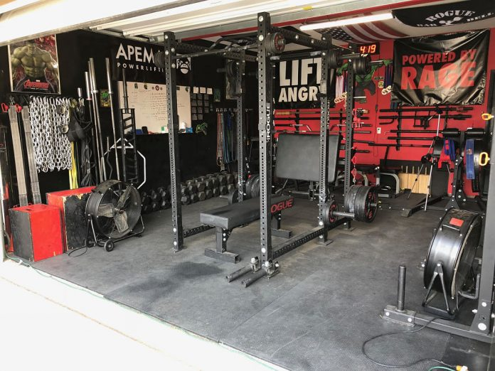 Castro Pain Cave 1 Garage Gym Lab