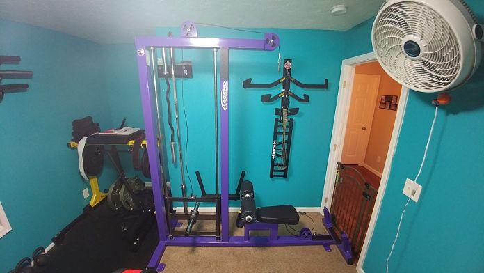 Jim & Holly Badass Home Gym Garage Gym Lab 3