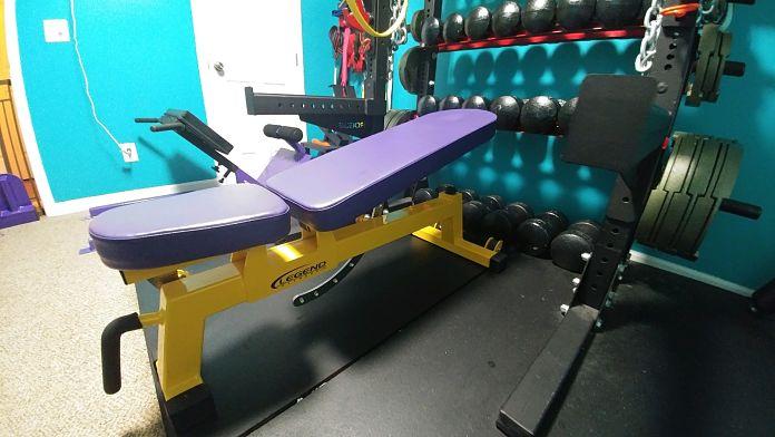 Jim & Holly Badass Home Gym Garage Gym Lab 5