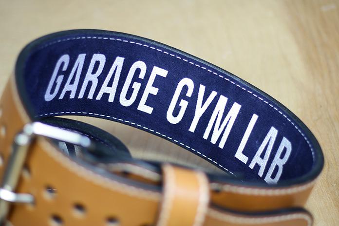 Pioneer Belts Suede Garage Gym Lab