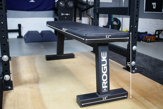 Rogue Flat Bench Measurements Garage Gym Lab