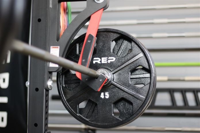 Rep Fitness PowerSpeed Bar Equalizer Plates Garage Gym Lab