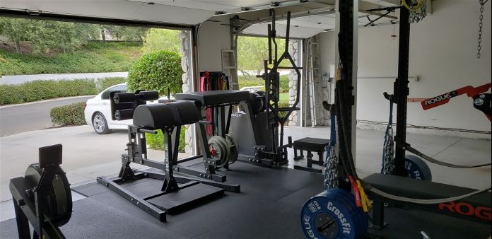 Willie's Stellar Garage Gym 6 Garage Gym Lab