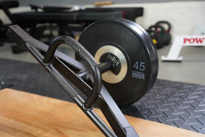 Intek ModF Bar - Angle 2 - Garage Gym Lab