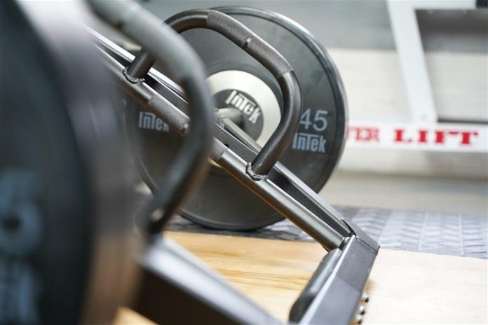 Intek ModF Bar - Angle - Garage Gym Lab