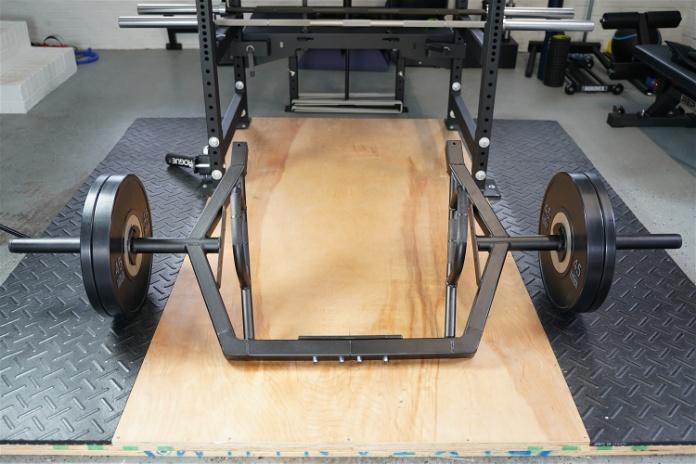 Intek ModF Bar - Front - Garage Gym Lab