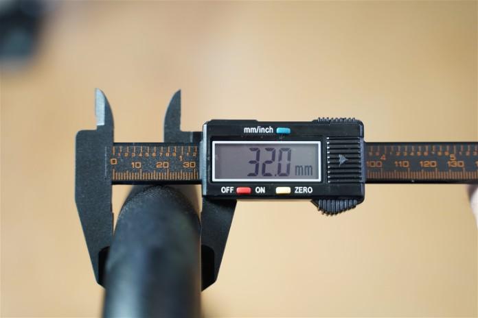 Intek ModF Bar - Handle Diameter