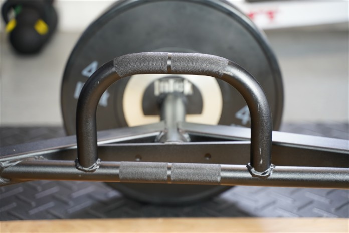 Intek ModF Bar - Handles - Garage Gym Lab