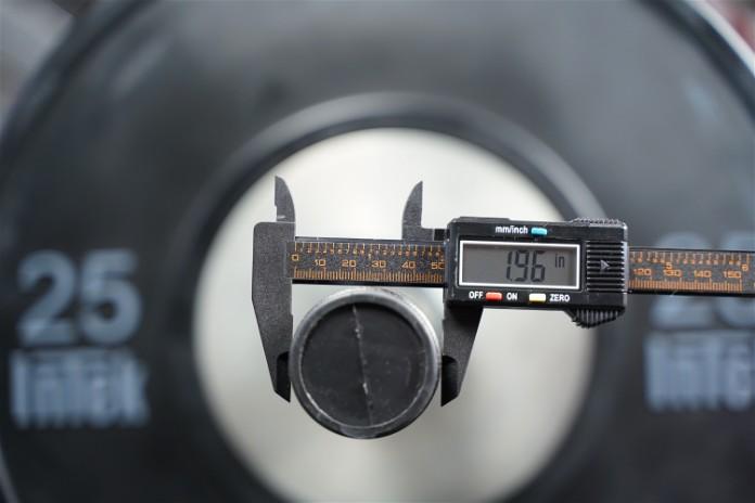 Intek ModF Bar - Sleeve Diameter - Garage Gym Lab