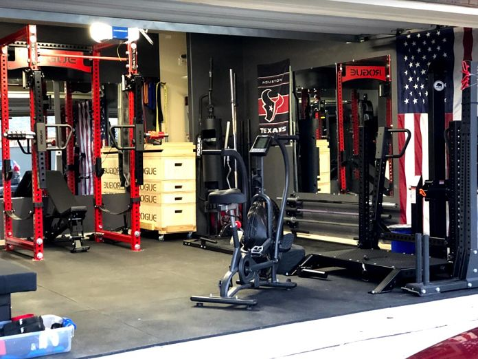 Matt & Michelle's Incredible Garage Gym 2 - Garage Gym Lab
