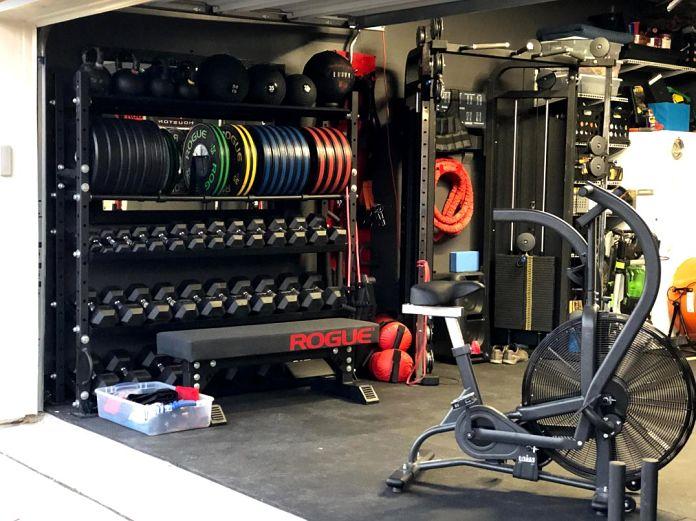 Matt & Michelle's Incredible Garage Gym 3 - Garage Gym Lab
