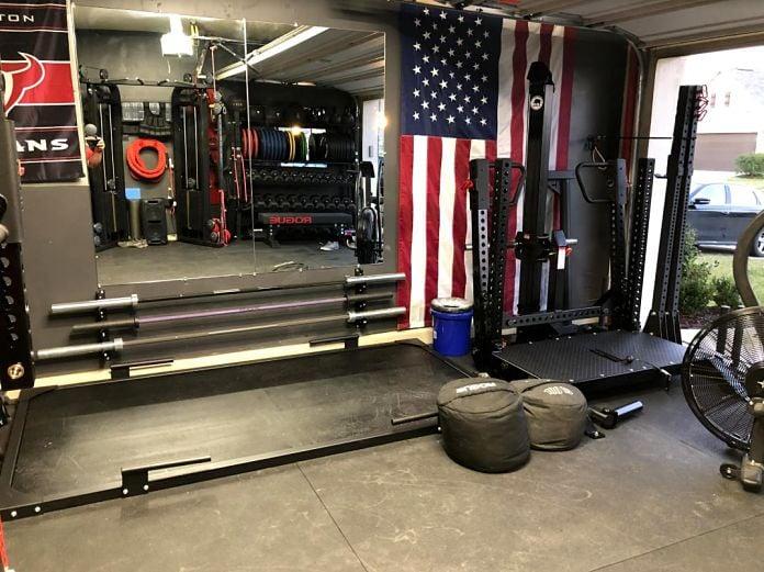 Matt & Michelle's Incredible Garage Gym 5 - Garage Gym Lab