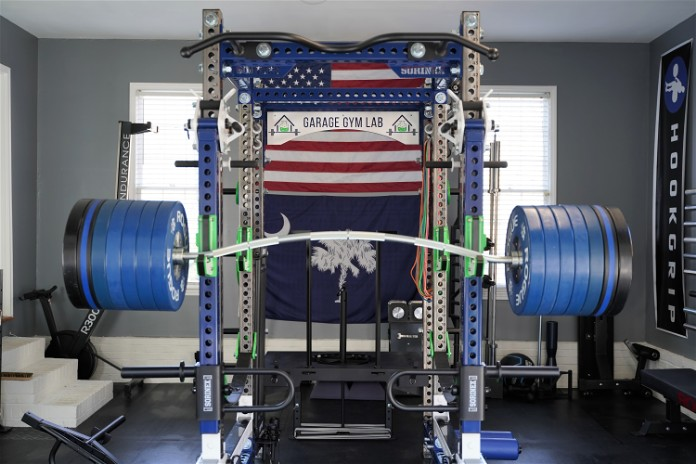 Vulcan Buffalo Bar - Loaded Heavy - Garage Gym Lab