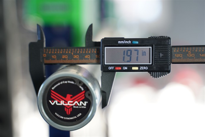 Vulcan Buffalo Bar - Sleeve Diameter - Garage Gym Lab