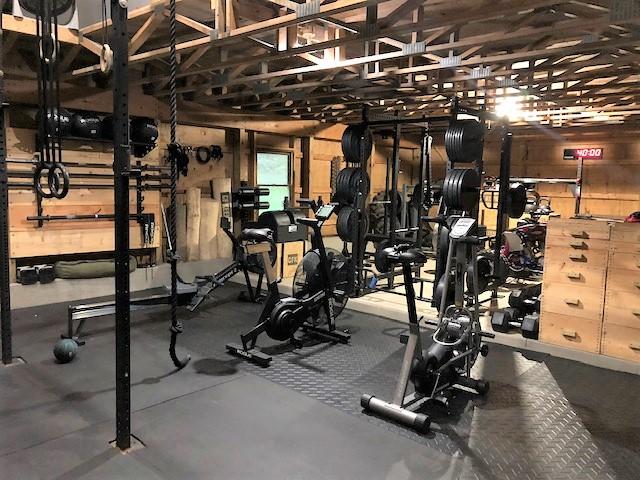 Brian's Barn Gym Conditioning - Garage Gym Lab