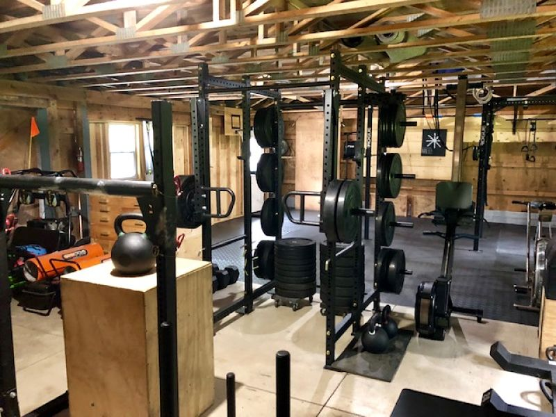 Brian's Barn Gym Equipment 2 - Garage Gym Lab
