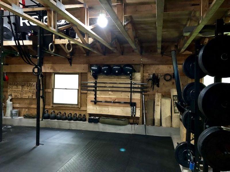 Brian's Barn Gym Equipment - Garage Gym Lab