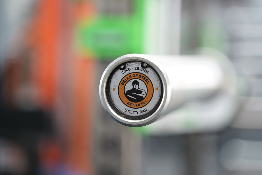 Bells of Steel Utility Bar - End Cap - Garage Gym Lab