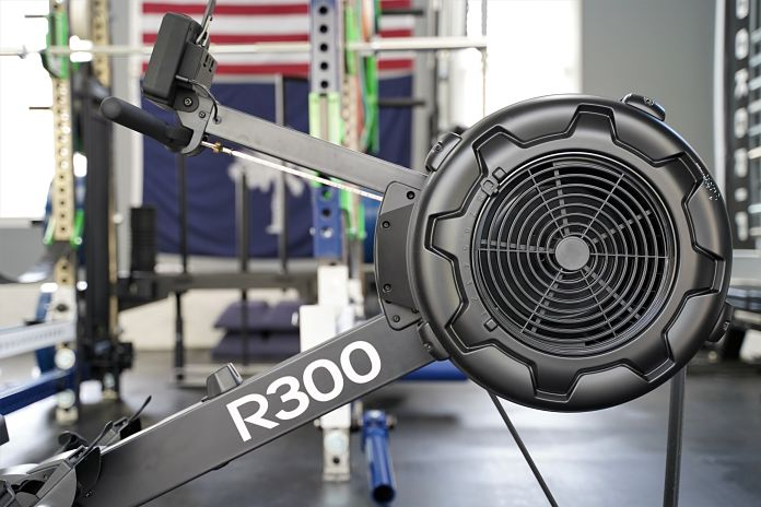 Body Solid R300 Rower - Profile - Garage Gym Lab