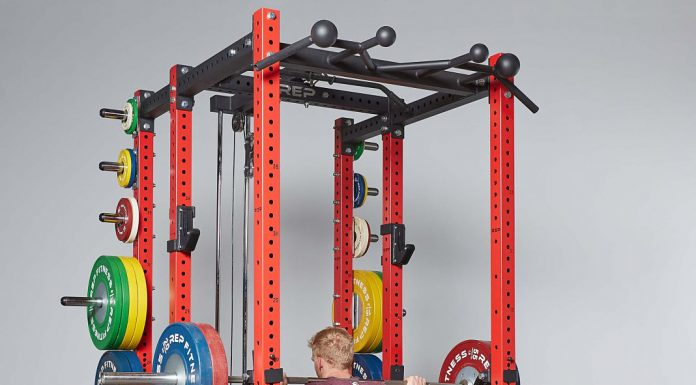 Rep Fitness PR-4000 Rack Release Cover - Garage Gym Lab