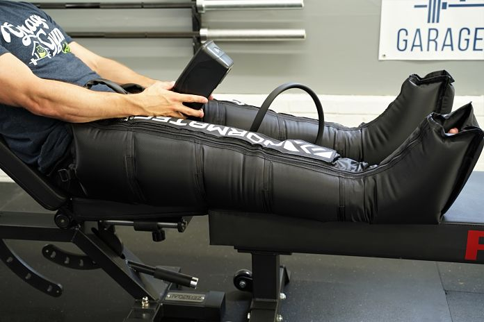NormaTec Pulse 2.0 - Side - Garage Gym Lab