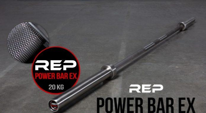 Rep Aggressive Stainless Power Bar - Garage Gym Lab